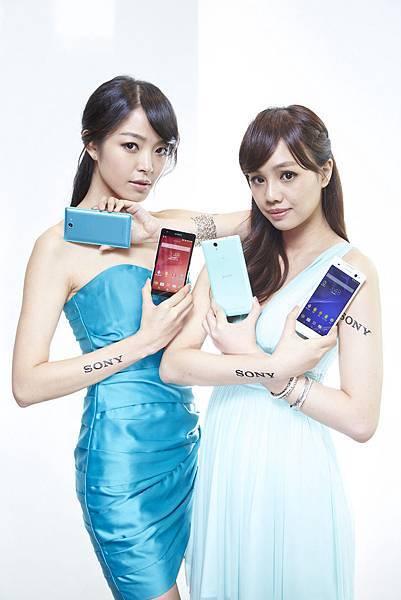 圖4_Sony Mobile首支支援4G全頻段的冠軍旗艦機種Xperia Z2a傲氣上市,並與全球同步發表4G全頻自拍神器- Xperia C3