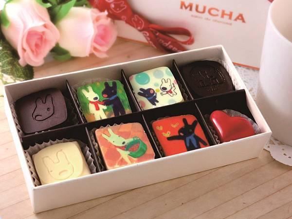 統一阪急台北店_Gaspard et Lisa消費滿3,800元即贈Gaspard et Lisa頂級手工巧克力一盒