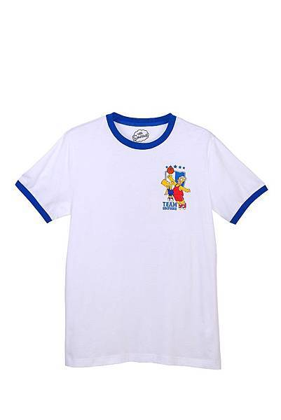 Hang Ten x The Simpsons 男裝-勳章號碼短袖T NT$1,190元