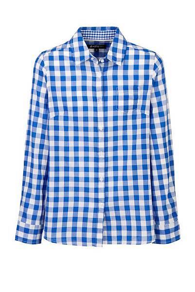 Hang Ten精選棉質襯衫(藍格紋) NT$1,490
