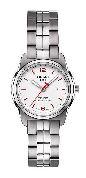 02.TISSOT PR 100 2014仁川亞運會特別版女裝腕錶 NT$16,600