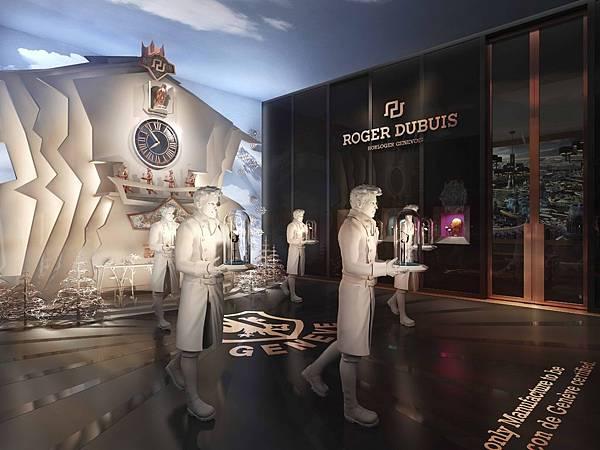 Roger Dubuis羅杰杜彼為2014年Watches&Wonders(鐘錶與奇跡)亞洲高級鐘錶展注入一股蒸汽龐克的氛圍。