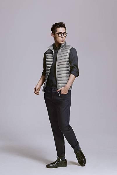周渝民穿男裝彈性SlimFit窄管多色牛仔褲