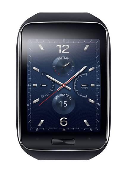 Samsung Gear S能輕易透過巧妙的widgets和整合的通知介面設計存取相關的資訊