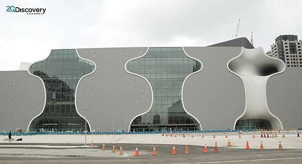 Discovery頻道《建築奇觀:台中國家歌劇院》歷時五年時間,全程記錄台灣工程團隊如何實現國際建築大師伊東豊雄建築美學設計,預計將成世界首屈一指的文化地標
