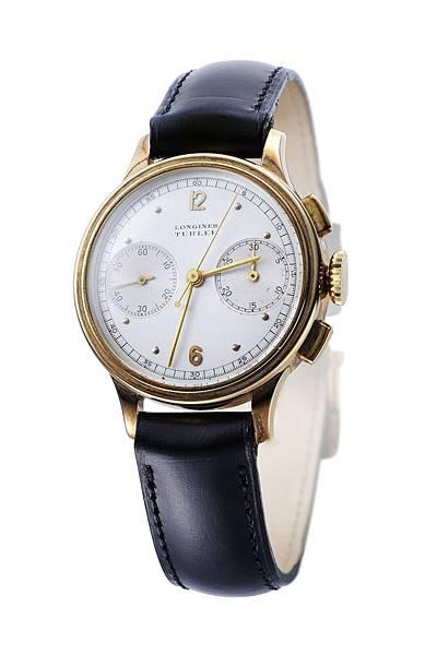 No10. 18k金材質錶殼計時碼錶