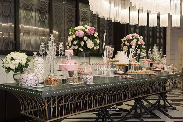 MOTPE Wedding 大宴會廳迎賓區由世界巧克力大師Frank Haasnoot精心準備Candy Bar (1)
