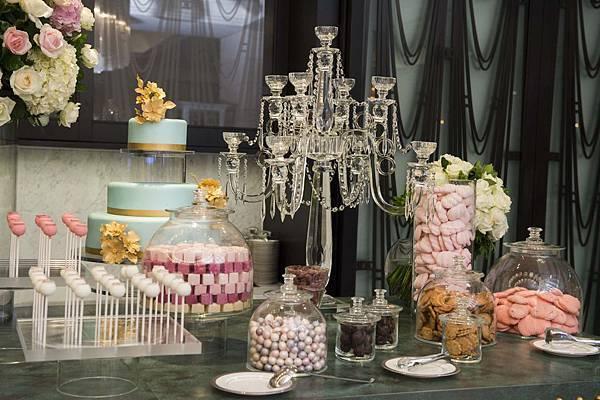 MOTPE Wedding 大宴會廳迎賓區由世界巧克力大師Frank Haasnoot精心準備Candy Bar (3)