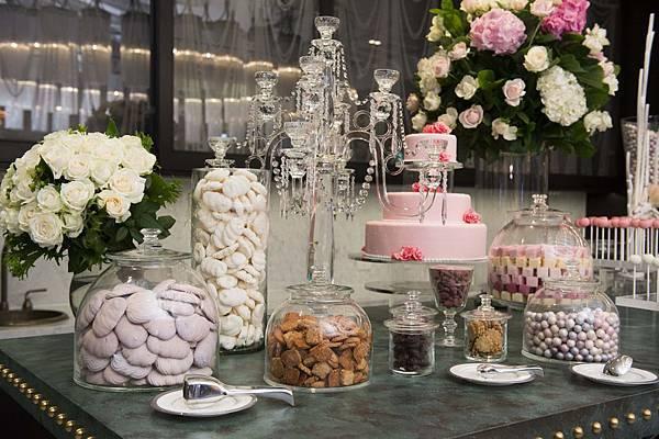 MOTPE Wedding 大宴會廳迎賓區由世界巧克力大師Frank Haasnoot精心準備Candy Bar (2)