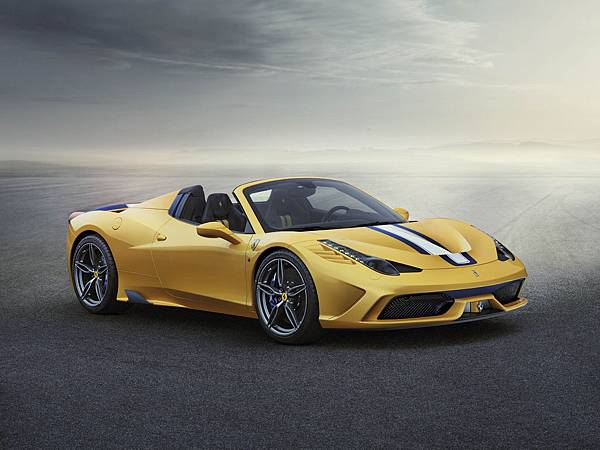458 Speciale A 車身45°外觀