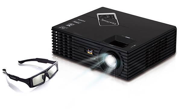 ViewSonic PJD7820HD Full HD 1080p 高流明 3D 投影機_產品圖