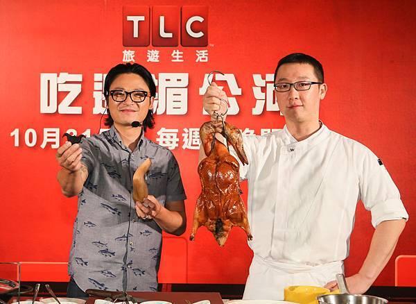 《吃遍湄公河》主持人阮盧克來台,與台北W飯店行政總主廚千地元用台灣在地食材打造創意美味