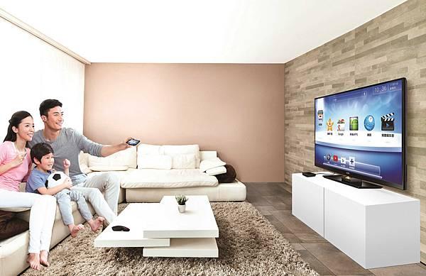 BenQ電視上網精靈JM-250_智慧家庭情境