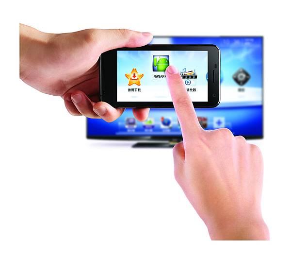 BenQ電視上網精靈JM-250_雙屏一指通App