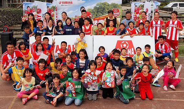 【YAMAHA CUP】第六屆足夢計畫校園巡迴最終站寒溪國小,全校師生大力響應,熱情感受足球魅力