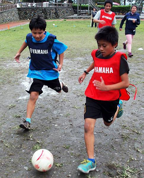 【YAMAHA CUP】四季國小孩童以對抗練習,促進反應思考以及實戰經驗