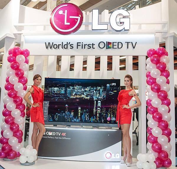 LG 77型OLED TV,以獨步業界的OLED顯示技術驚豔全球,獨家WRGB四色顯示技術,呈現真實細膩色彩