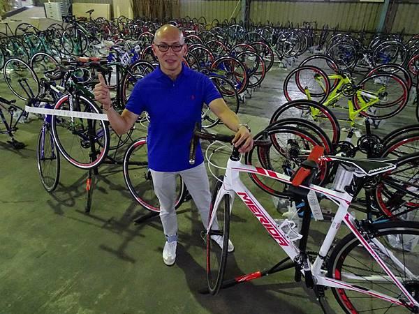 美利達全力支援導演林超賢破風電影所需材料,盼世界看見台灣自行車工藝之美(英皇電影提供)