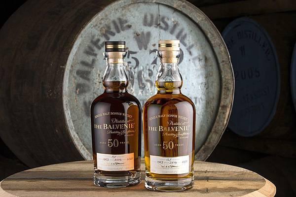 THE BALVENIE百富50年珍稀威士忌系列 cask 4570 and cask 4567