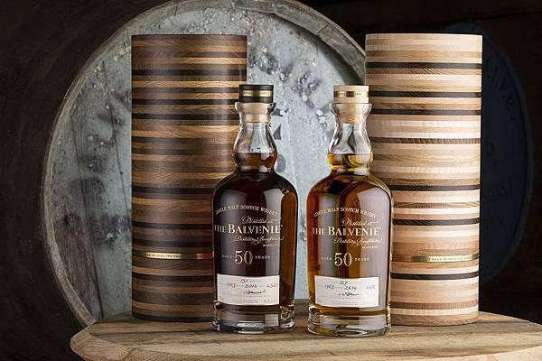 THE BALVENIE百富50年珍稀威士忌系列 cask 4570 and cask 4567 + Bottle