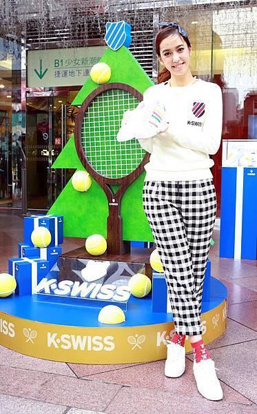 【K-SWISS】代言人陳庭妮以自我創作與粉絲提前度過顛覆白聖誕