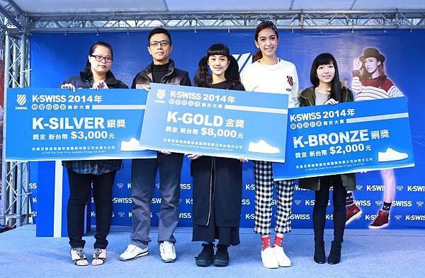 【K-SWISS】顛覆白計畫優秀得獎者出爐!由三位服裝設計系同學以各自精巧手工獲得評審青睞
