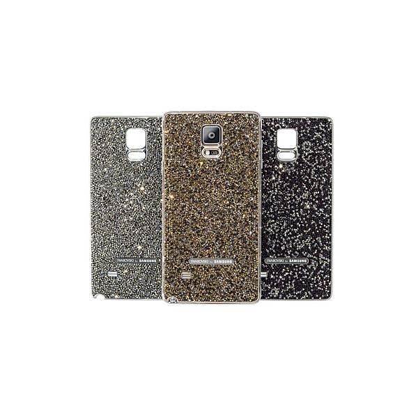 三星與Swarovski施華洛世奇合作推出的「璀璨精裝版組合,共有「耀眼銀」、「燦爛金」、「酷黑紫」三種晶耀色系