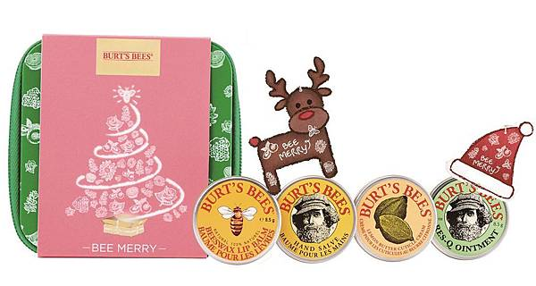 統一阪急台北店_BURT'S BEES 聖誕經典禮盒原價680元,推薦價599元,限量20組