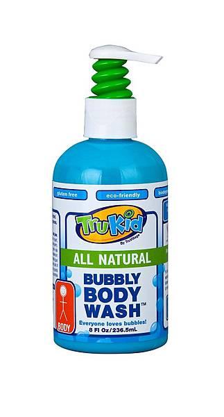 TruKid Bubbly Body Wash 溫和泡泡沐浴露。售價NT$650