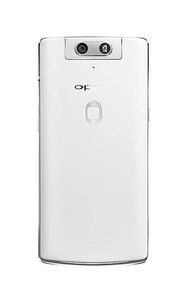 全球首款自動旋轉鏡頭OPPO N3_背面