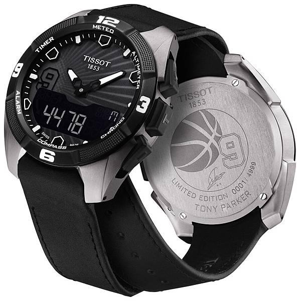 圖4.TISSOT T-Touch Expert Solar Tony Parker限量版腕錶