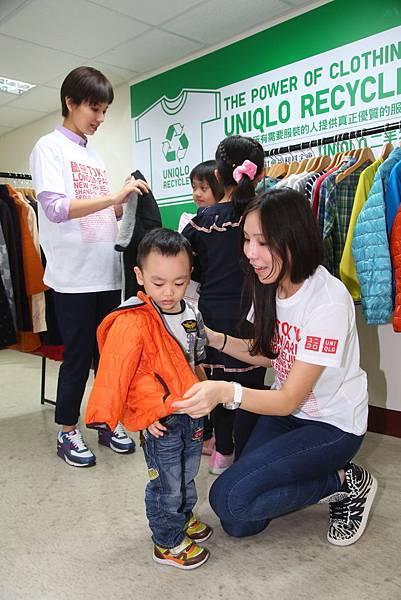 UNIQLO二手衣捐贈 送愛到伊甸基金會2