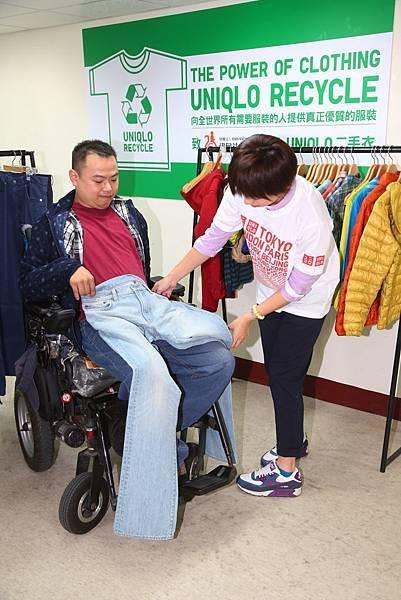 UNIQLO二手衣捐贈 送愛到伊甸基金會3