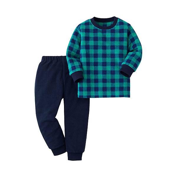 嬰幼兒 細刷毛 家居服組 (長袖) 原價NT$590,截至12月31日限定價NT$490