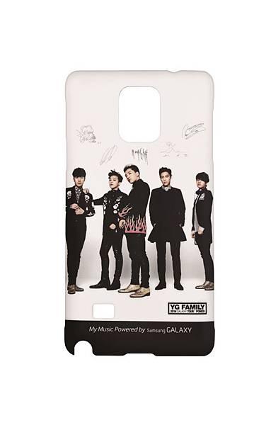 韓國知名團體 BIGBANG專屬簽名背蓋