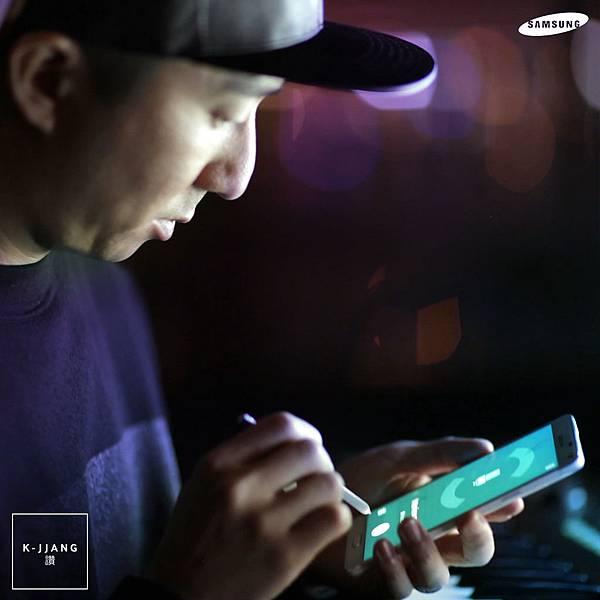 王牌音樂製作人Choice 37親身分享GALAXY Note 4的強大功能
