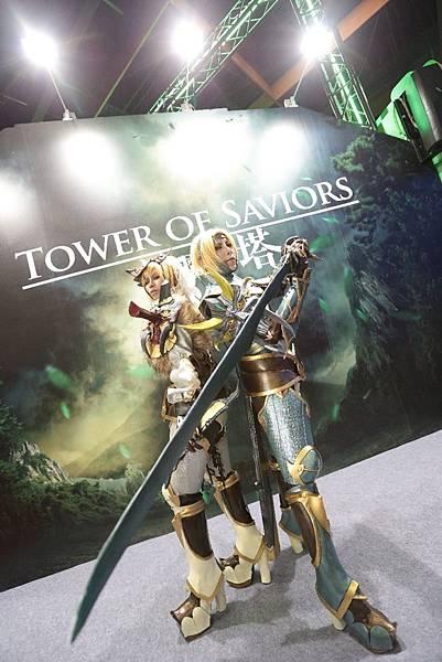 (神魔之塔)圖5-2015台北國際電玩展最強coser就在神魔之塔