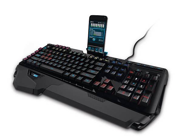 【圖六】G910 ORION SPARK 機械式遊戲鍵盤