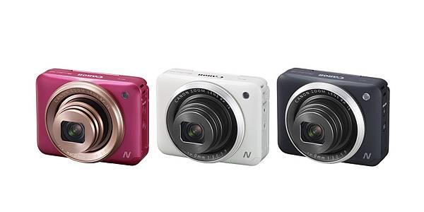 圖說一,PowerShot N2外型時尚美觀、小巧好攜帶,非常適合年輕玩樂拍檔作為生活隨拍的小相機