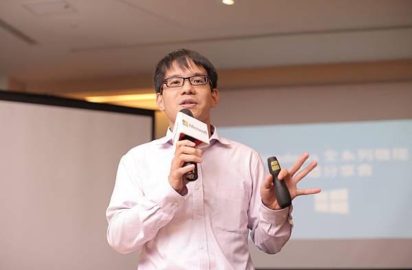 【新聞照片2】台灣微軟營運暨行銷事業群總經理 康容 分享微軟生產力平台與裝置 幫助客戶與消費者完成更多