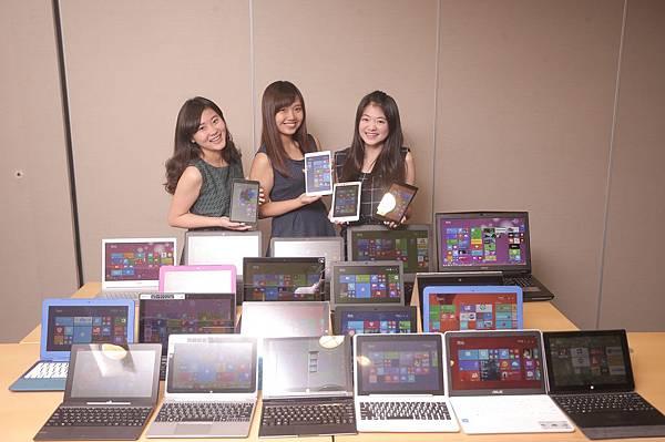 【新聞照片1】Windows 全系列機型 滿足客戶與使用者各種需求