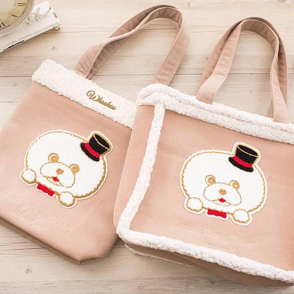 圖說四:樂天市場獨家開賣與蔡依林愛犬-Whoohoo(屋虎)合作的系列包包,可愛造型超療癒!