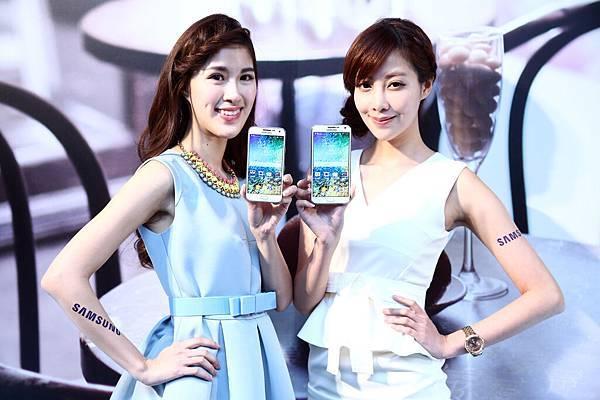 中階超旗艦 唯E首選! Samsung GALAXY E系列 精彩生活E起玩