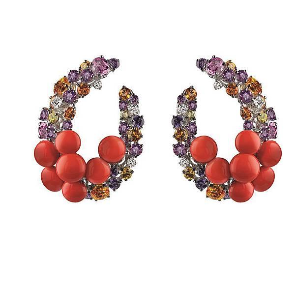 4. MEDITERRANEA地中海系列耳環,建議售價 NTD$ 758,000