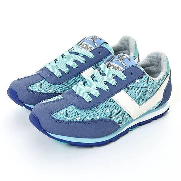 圖說一:Pony x 笑笑羊 SOHO系列 青春羊意淘氣慢跑鞋一雙2,500元有找,打造最繽紛的運動LOOK!