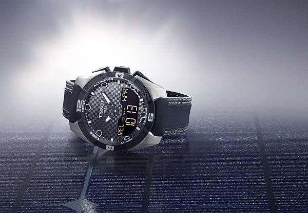 圖1.天梭表TISSOT T-Touch Expert Solar太陽能觸控腕錶 建議售價NT$32,400