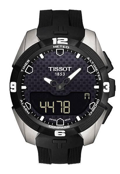 圖3.天梭表TISSOT T-Touch Expert Solar太陽能觸控腕錶 建議售價NT$32,400