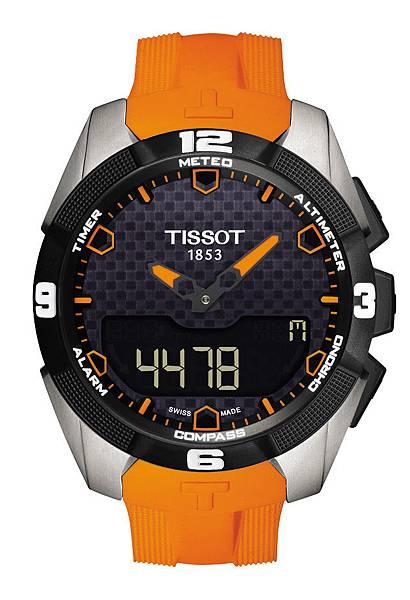 圖5.天梭表TISSOT T-Touch Expert Solar太陽能觸控腕錶 建議售價NT$32,400