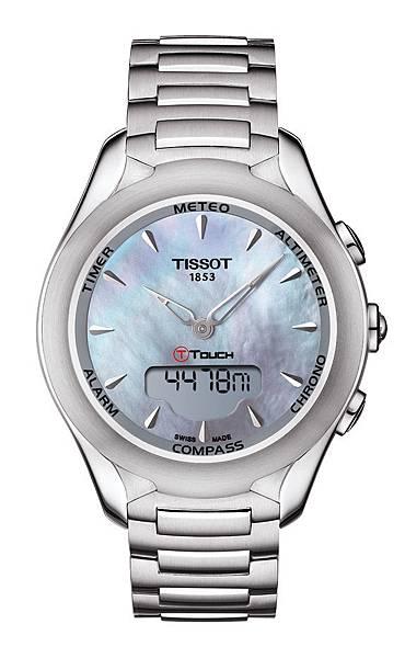 圖9.天梭表TISSOT T-Touch Lady Solar太陽能觸控腕錶 建議售價NT$29,000