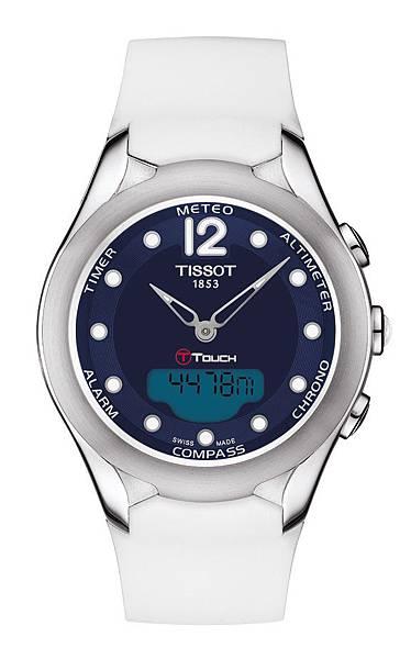 圖8.天梭表TISSOT T-Touch Lady Solar太陽能觸控腕錶 建議售價NT$28,100
